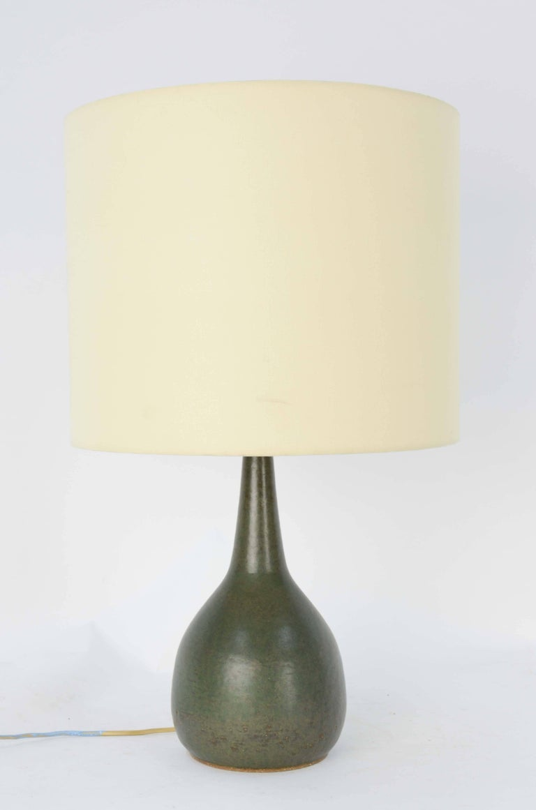 Mid-20th Century 1950s Superb Per Linnemann-Schmidt Stoneware Lamp for Palshus Stentøj, Denmark For Sale
