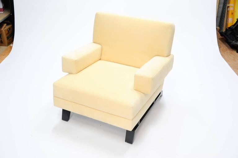 Pair of Paul Laszlo Club Chairs In Excellent Condition For Sale In Portland, OR