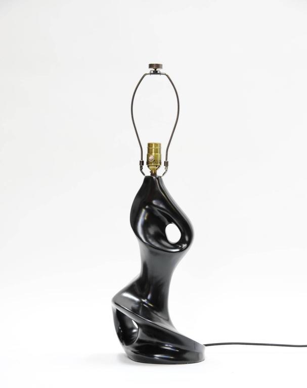 Pair of Sensual Lamps in the Manner of Paul Laszlo 4