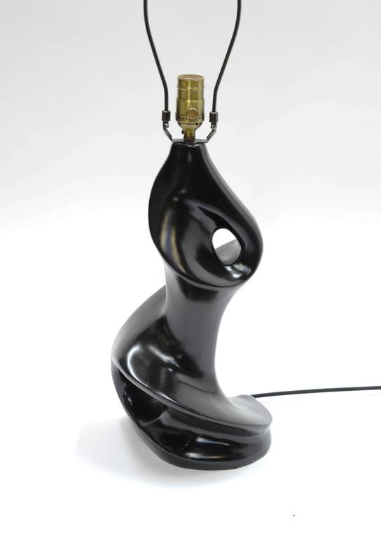 Pair of Sensual Lamps in the Manner of Paul Laszlo 7