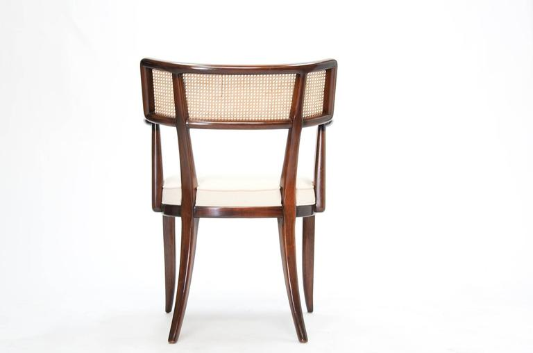 Set of up to 12 Magnificent Edward Wormley Dining Chairs for Dunbar In Excellent Condition For Sale In Portland, OR