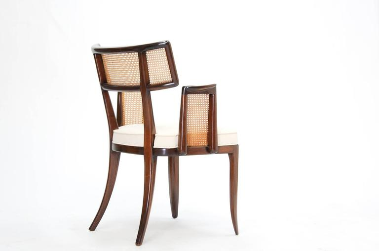 Mid-20th Century Set of up to 12 Magnificent Edward Wormley Dining Chairs for Dunbar For Sale