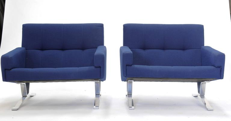 Pair of European Club Chairs for JG Furniture Company after Poul Kjaerholm 2