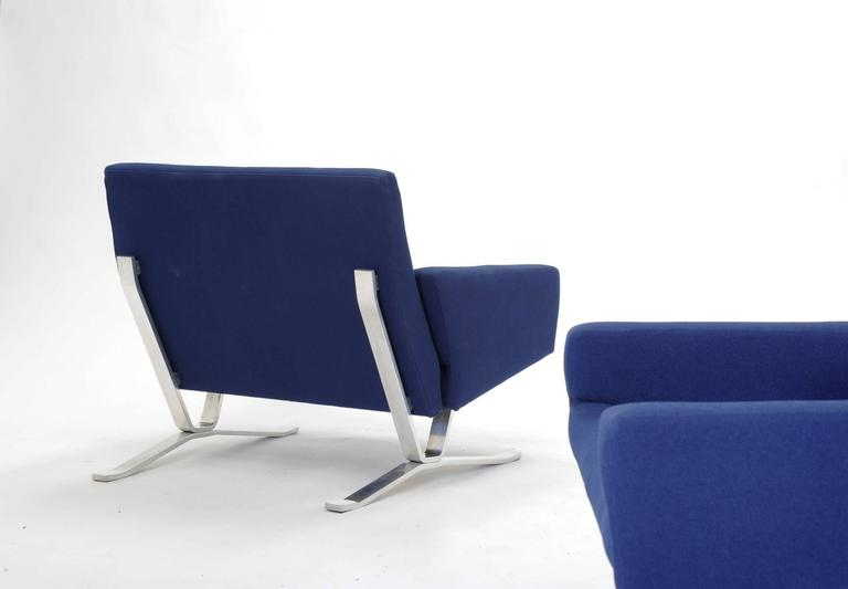 Pair of European Club Chairs for JG Furniture Company after Poul Kjaerholm 4