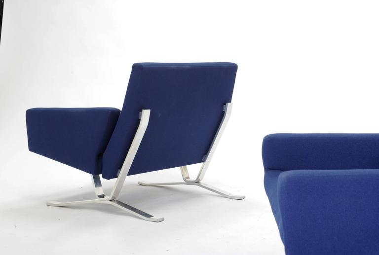 Pair of European Club Chairs for JG Furniture Company after Poul Kjaerholm 5