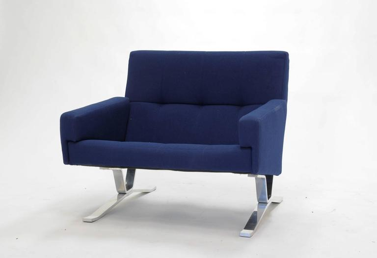 Pair of European Club Chairs for JG Furniture Company after Poul Kjaerholm 7