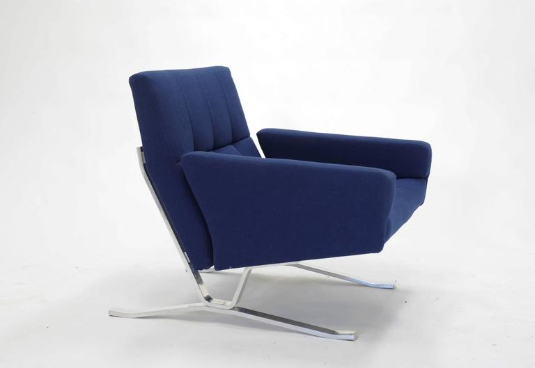 Pair of European Club Chairs for JG Furniture Company after Poul Kjaerholm 8