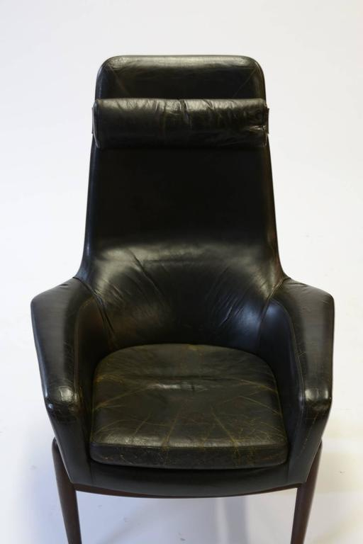 Mid-20th Century Elegant PD 30 Chair by Ib Kofod- Larsen for Povl Dinesen Reclining Club Chair For Sale