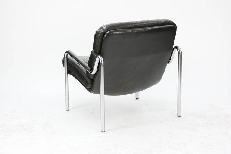 Inviting Pair of Club Chairs by Jørgen Kastholm for Kusch & Co. 5