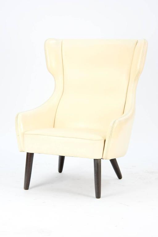 Distinctively-Styled Wingback Armchair 2