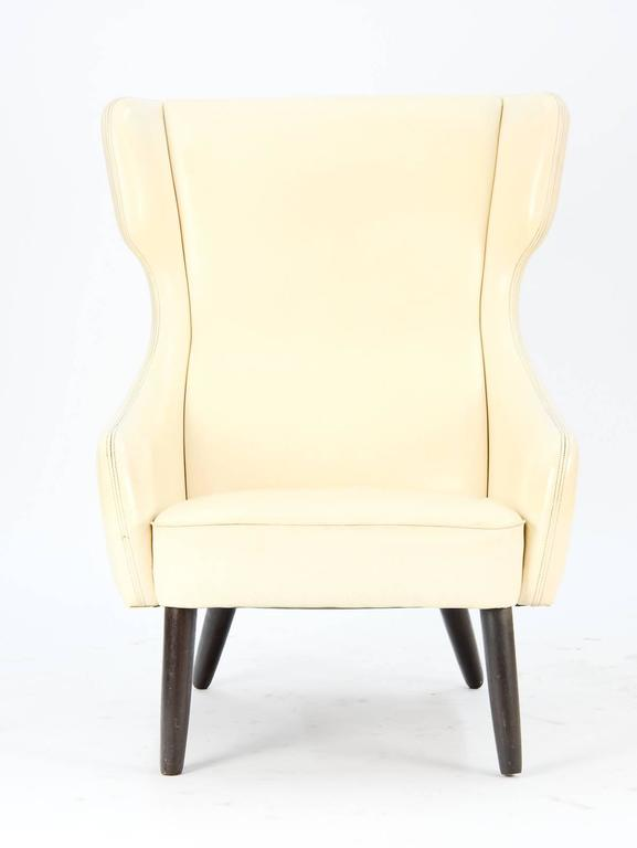 Distinctively-Styled Wingback Armchair 3