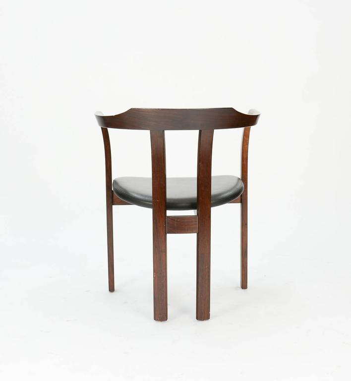 Danish A Pair Rosewood Arm Chairs by Hans Olsen for C/S Mobler, Glostrup  For Sale