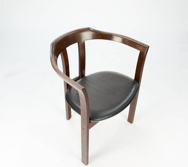A Pair Rosewood Arm Chairs by Hans Olsen for C/S Mobler, Glostrup  For Sale 1