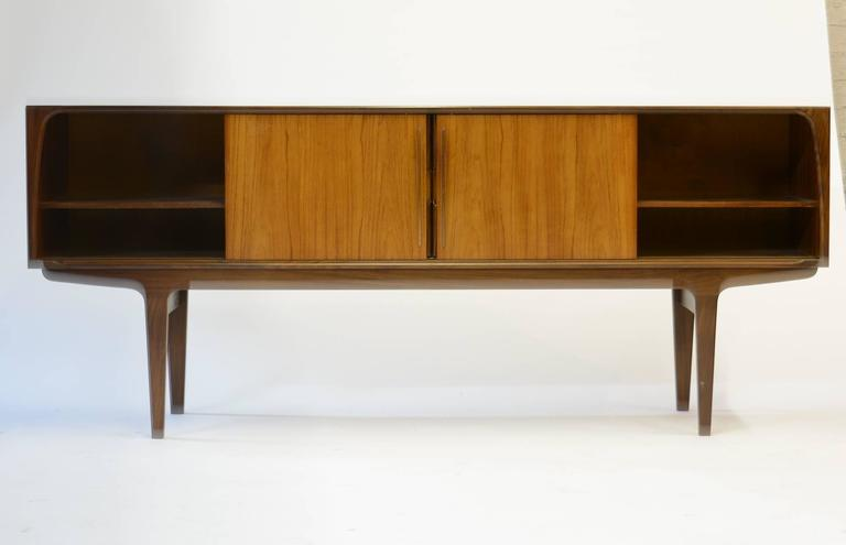 Mid-Century Modern Magnificent Danish Teak Mid-Century Sideboard For Sale