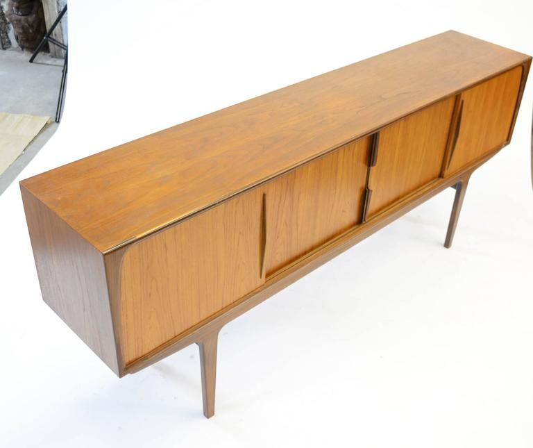 20th Century Magnificent Danish Teak Mid-Century Sideboard For Sale
