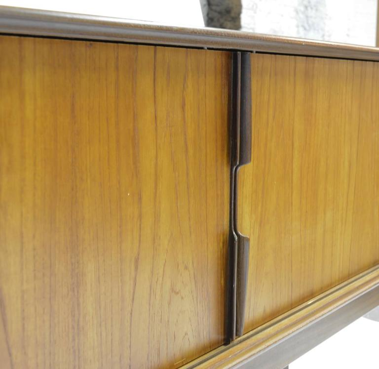 Magnificent Danish Teak Mid-Century Sideboard For Sale 1