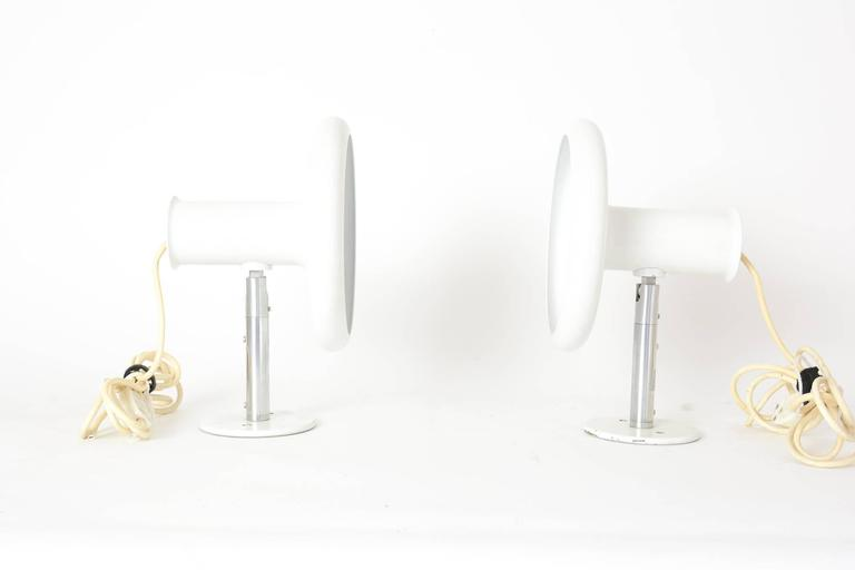 Pair of 'Optima' Articulating Wall Sconces by Hans Due for Fog & Mørup 2