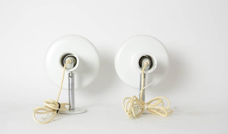 Pair of 'Optima' Articulating Wall Sconces by Hans Due for Fog & Mørup 4