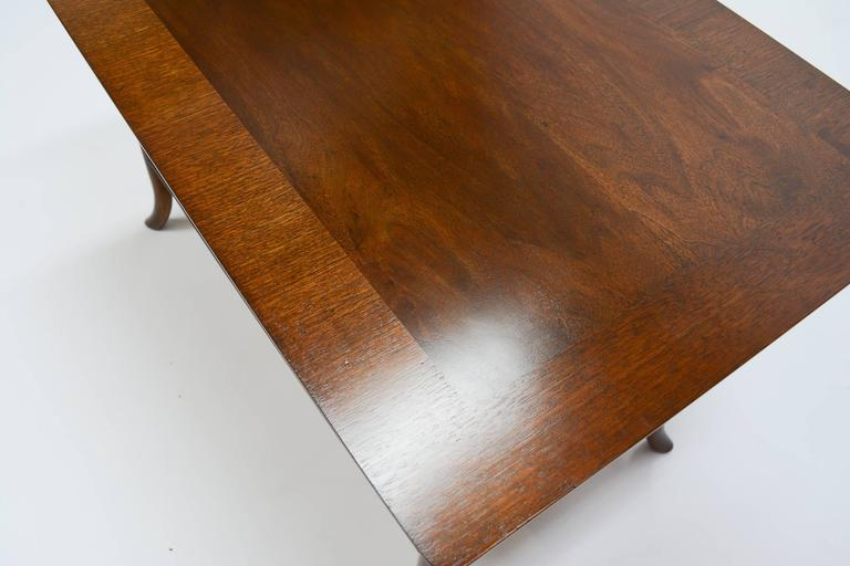 T. H. Robsjohn-Gibbings Side Table for Widdicomb with Crossed-Veneer Top 4