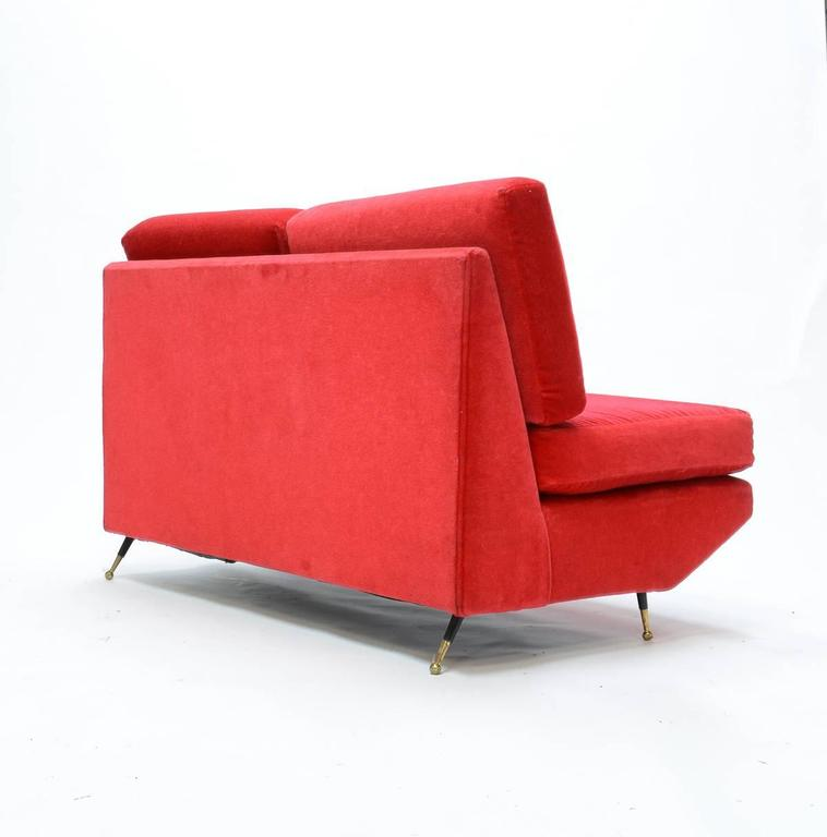 Mid-Century Italian Settee in the Manner of Marco Zanuso 3