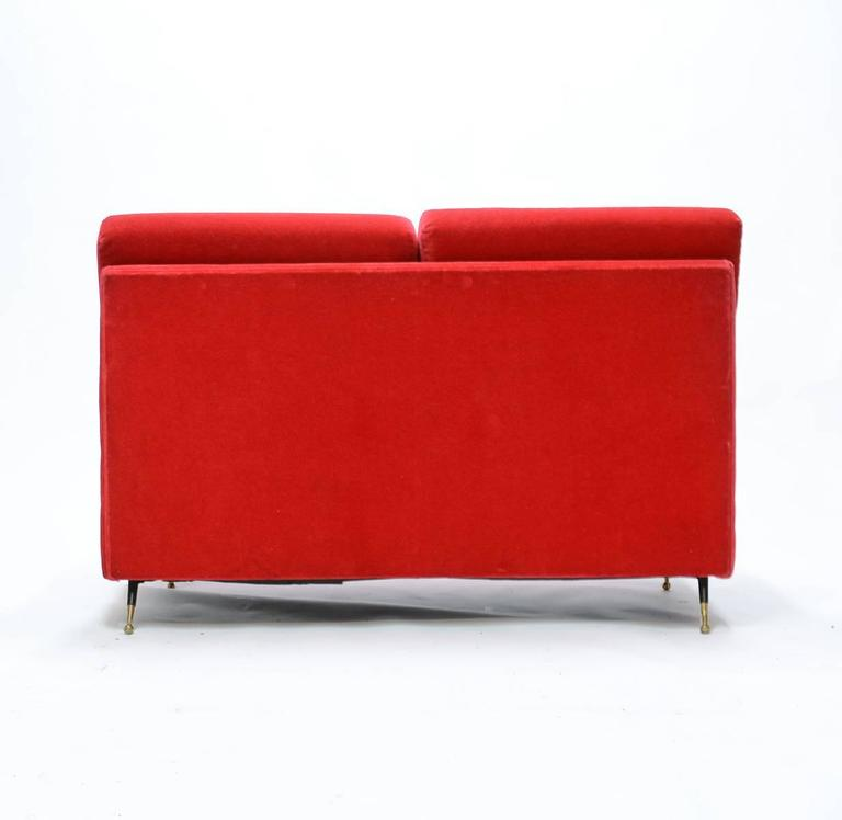 Mid-Century Italian Settee in the Manner of Marco Zanuso 4