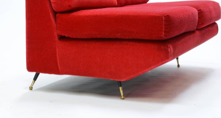 Mid-Century Italian Settee in the Manner of Marco Zanuso 5