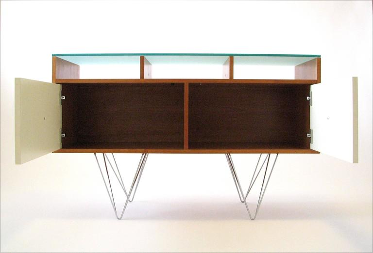 Glass Top Credenza or Bar Service by Bobo Modern Living 2