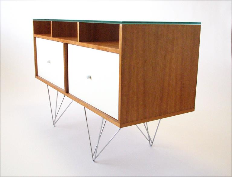 Glass Top Credenza or Bar Service by Bobo Modern Living 4