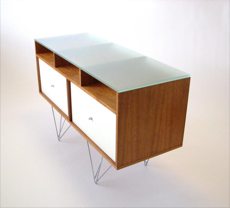 Glass Top Credenza or Bar Service by Bobo Modern Living 5