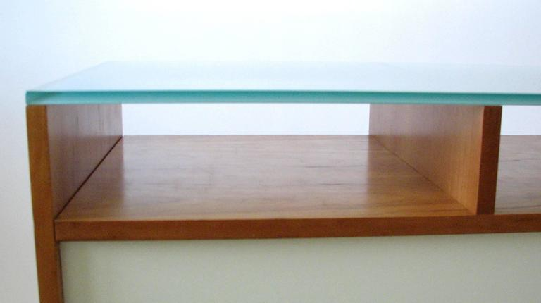 Glass Top Credenza or Bar Service by Bobo Modern Living 8