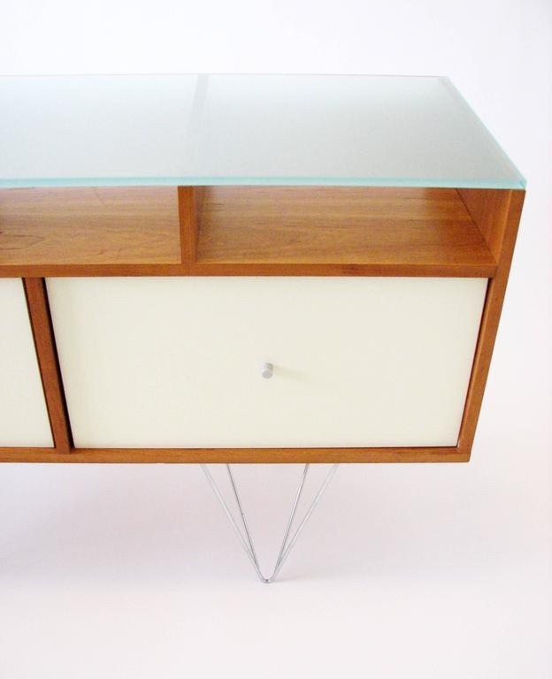 Glass Top Credenza or Bar Service by Bobo Modern Living 9