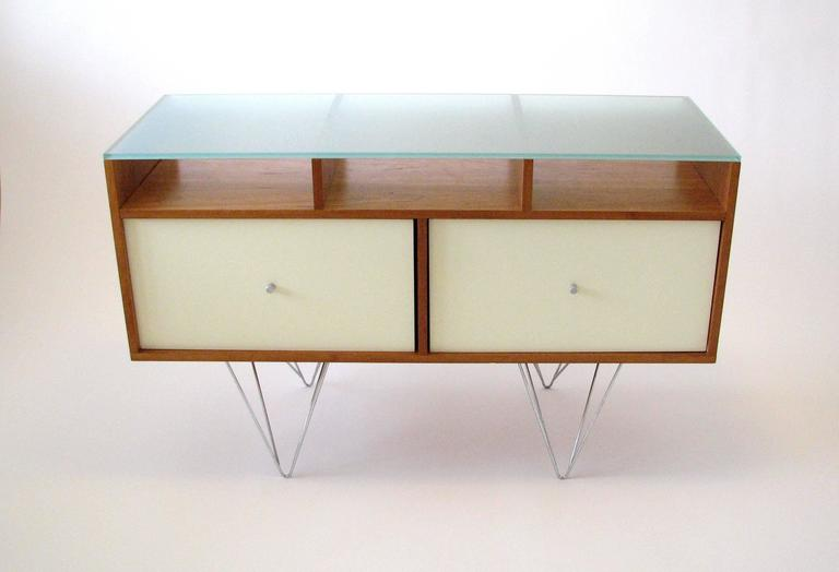 Glass Top Credenza or Bar Service by Bobo Modern Living 10
