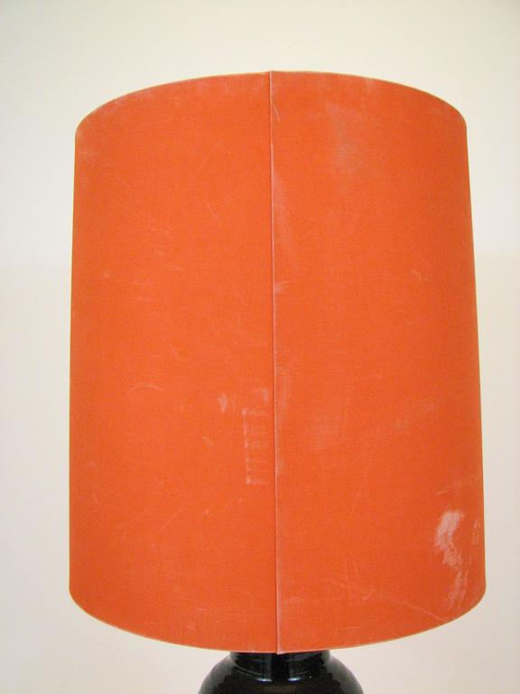 Mid-Century Glazed Ceramic Table Lamp by Bjorn Wiinblad for Rosenthal For Sale 4