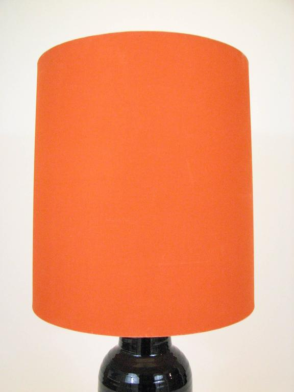 Mid-Century Glazed Ceramic Table Lamp by Bjorn Wiinblad for Rosenthal For Sale 2