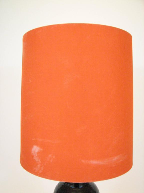 Mid-Century Glazed Ceramic Table Lamp by Bjorn Wiinblad for Rosenthal For Sale 3