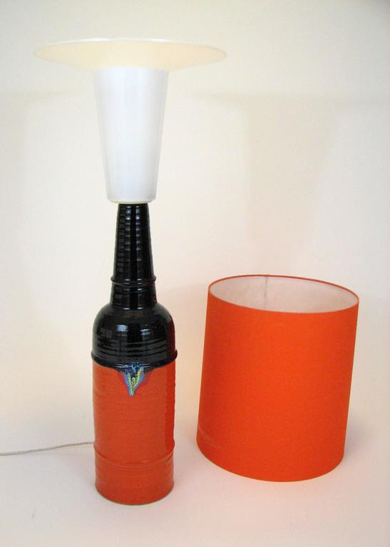 20th Century Mid-Century Glazed Ceramic Table Lamp by Bjorn Wiinblad for Rosenthal For Sale