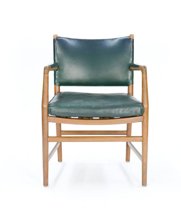 First Production Hans Wegner Aarhus City Hall Desk Chair for Planmobler, 1940 3