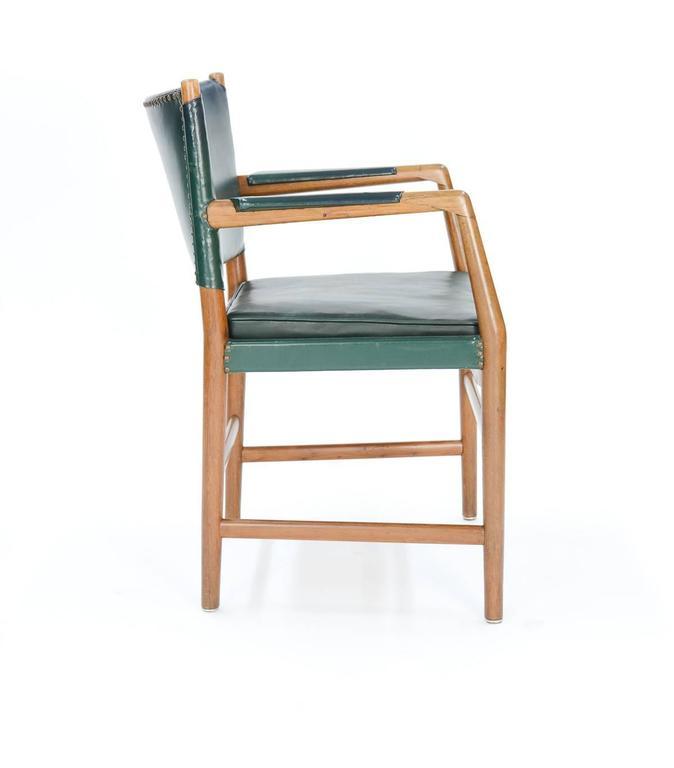 First Production Hans Wegner Aarhus City Hall Desk Chair for Planmobler, 1940 4