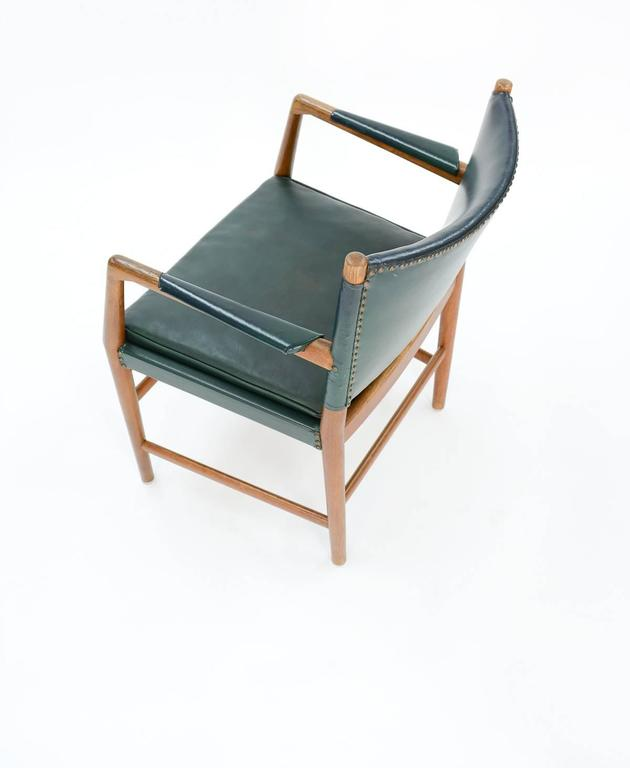 First Production Hans Wegner Aarhus City Hall Desk Chair for Planmobler, 1940 7