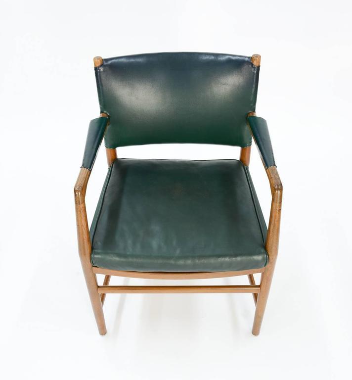 First Production Hans Wegner Aarhus City Hall Desk Chair for Planmobler, 1940 8