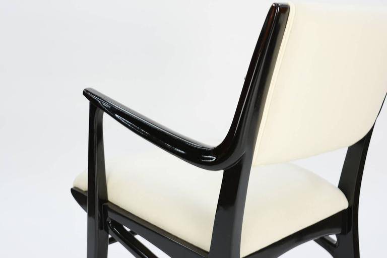 Elegant Set of 6 Dining Chair by John Van Koert's Profile Line for Drexel 5