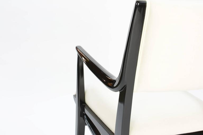 Elegant Set of 6 Dining Chair by John Van Koert's Profile Line for Drexel 6