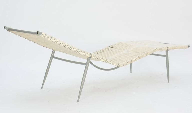 American Pair of Elegant Vintage Chaises After Van Keppel and Green Designs For Sale