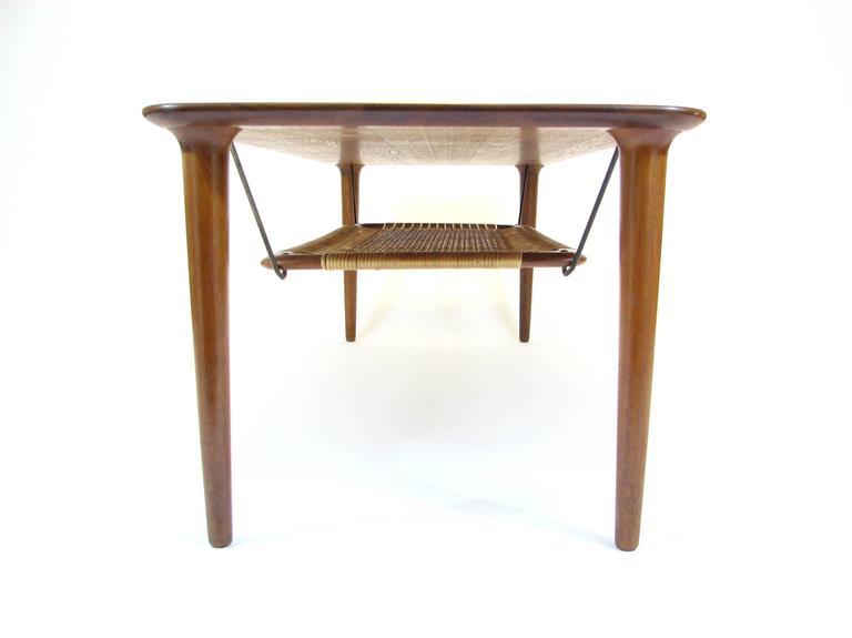 Mid-Century Modern Mid-Century Norwegian Teak Coffee Table by Gustav Bahus For Sale