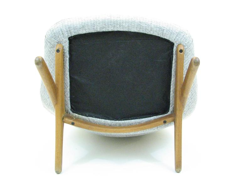 Danish ML 91 Lounge Chair by Illum Wikkelsø for Mikael Larsen For Sale 3
