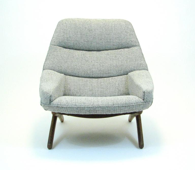 20th Century Danish ML 91 Lounge Chair by Illum Wikkelsø for Mikael Larsen For Sale