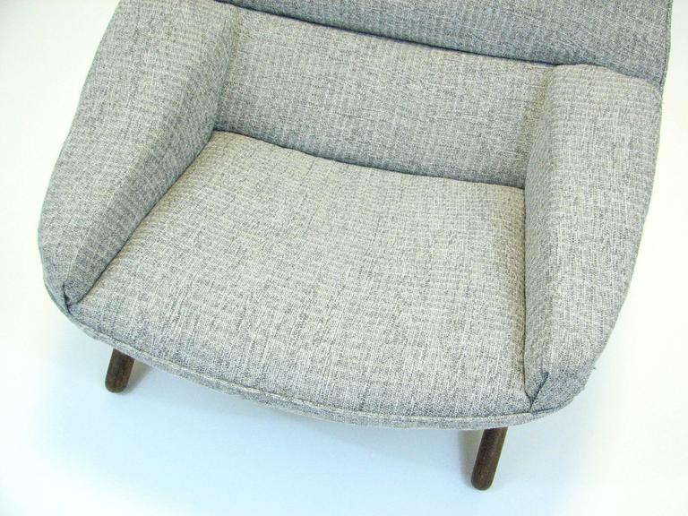 Danish ML 91 Lounge Chair by Illum Wikkelsø for Mikael Larsen For Sale 1