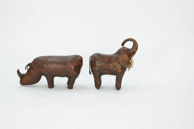Mid-20th Century 14-Piece Zoo by Dimitri Omersa for Abercrombie & Fitch For Sale