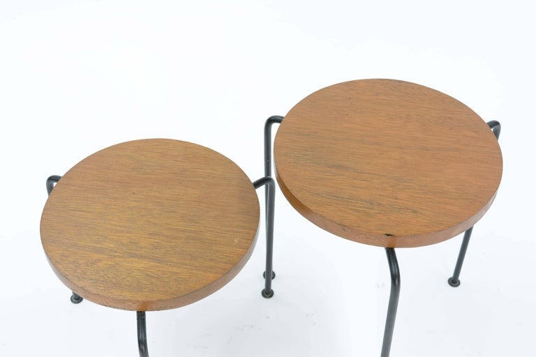Set of Two Luther Conover Nesting Stools or Side Tables by Pacific Design Group 3