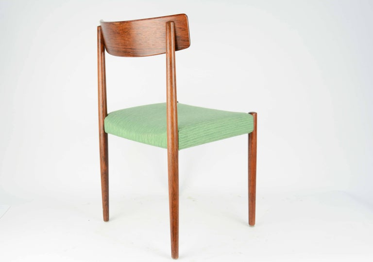 Spectacular Set of Eight Rosewood Chairs by Nils Jonsson for Troeds of Sweden 5